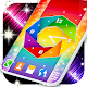 Rainbow Color Free Analog Clock (app)