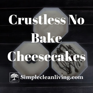 Crustless No Bake Cheesecake