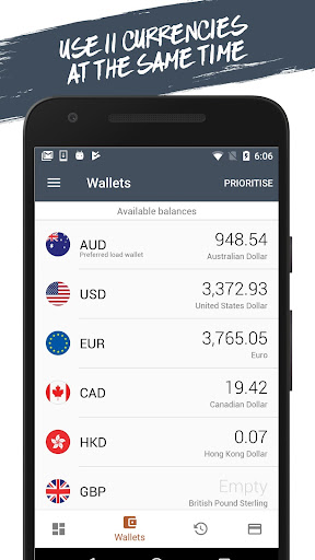 Bank of Melbourne Global Currency Card - screenshot