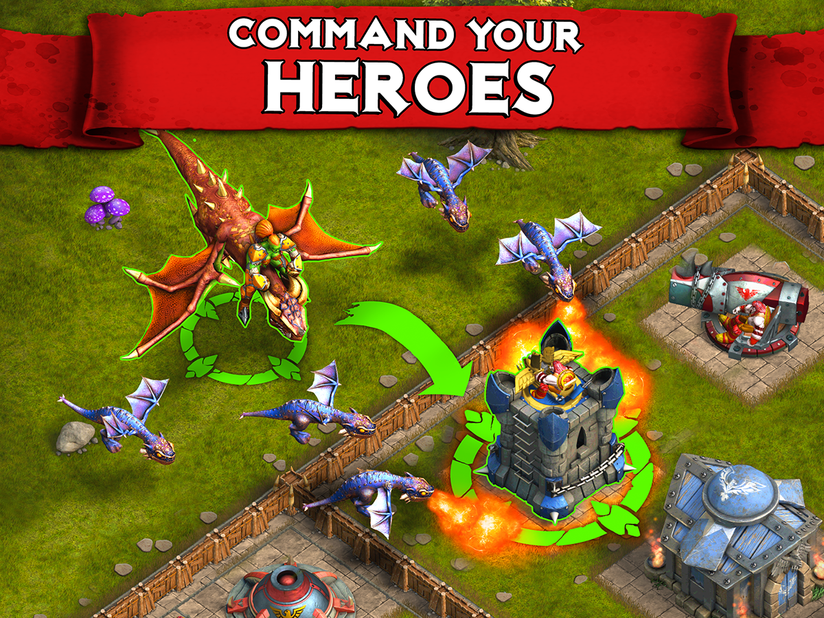 heroes of war orcs vs knights android apps on google play heroes of war orcs vs knights screenshot