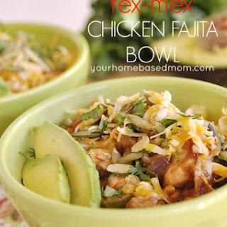 Tex-Mex Chicken Fajita Bowls}Kraft Recipe Makers
