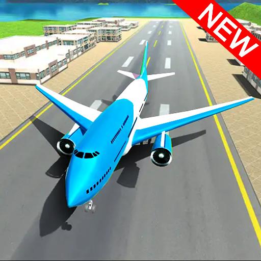 Airplane Landing Simulator : Real Flight 3D Games