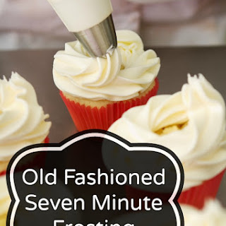 Old Fashioned Seven Minute Frosting.