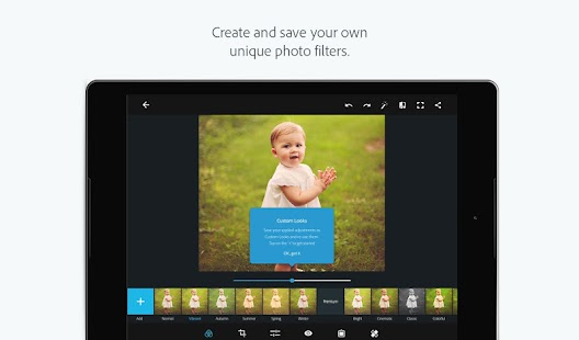Adobe Photoshop Express – Miniaturansicht des Screenshots