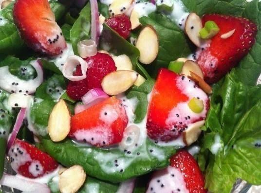 Strawberry Festival Salad Recipe Just A Pinch Recipes
