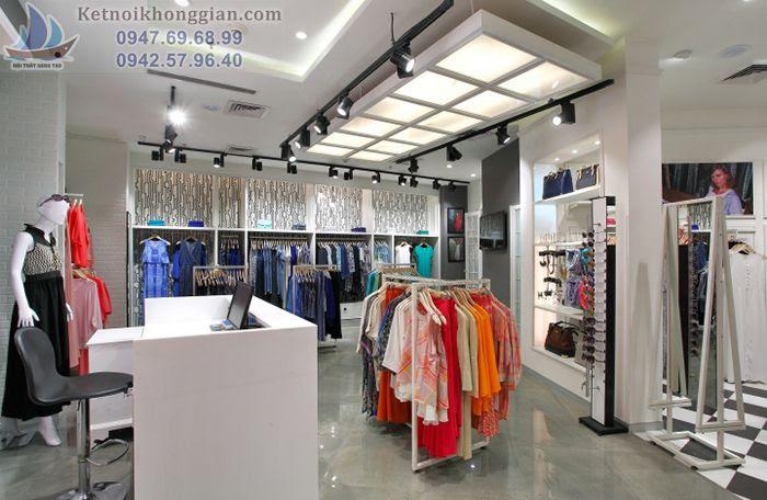 Thiết kế shop thời trang phù hợp với phong cách chủ đầu tư