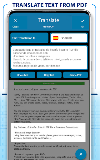 PDF Scanner - Scan documents, photos, ID, passport screenshots 5