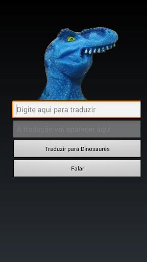 Dinofauro Tradutor dinofaurês