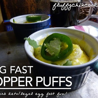 Simple Egg Fast Popper Puffs Put Excitement Back in Low Carb Keto Breakfasts.