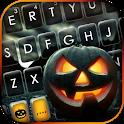 Spooky Pumpkin Keyboard Background icon