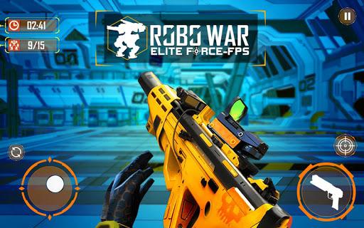 Real Robots War Gun Shoot: Fight Games 2019 1.1.3 screenshots 8