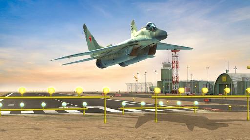Flight Plane Simulator 3D : Airplane Flying Sim apkpoly screenshots 8
