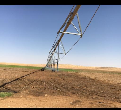 Pivot irrigation énergie solaire