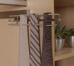 Photo: Closet detail: tie rack