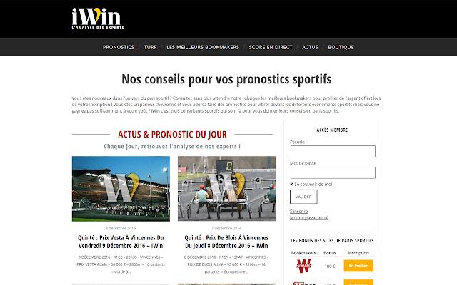 iWin - Chrome Web Store