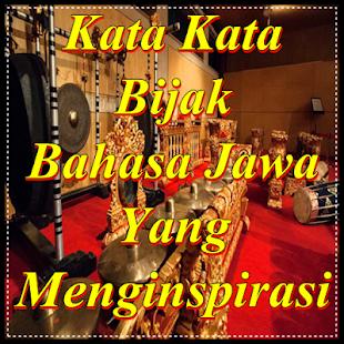 Kata Bijak Bahasa Jawa Kromo Inggil Beserta Artinya ...
