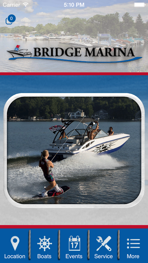 Lake Hopatcong Boater's App.- screenshot