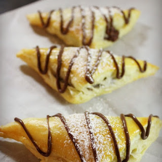 Nutella Puff Pastries.
