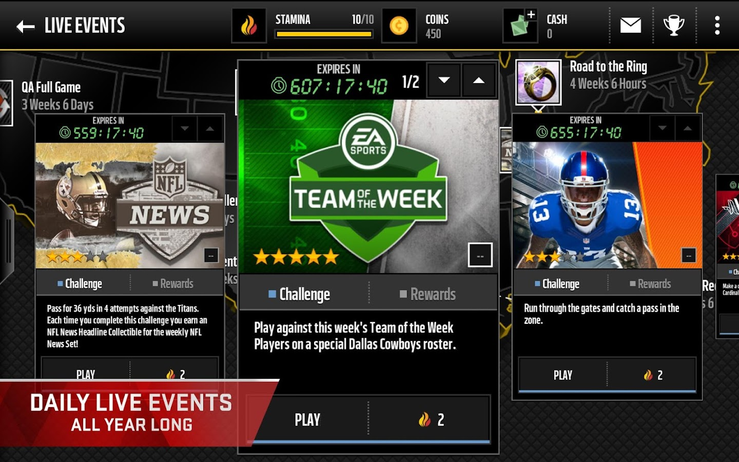 Madden NFL Mobile- screenshot