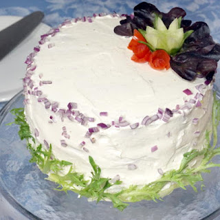 Smorgastarta (Swedish Sandwich Cake)