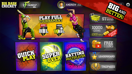 Big Bash Cricket 1 screenshots 10