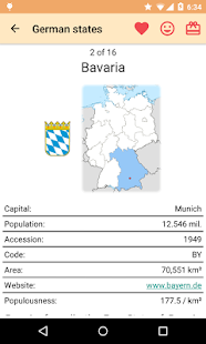 States and Cities of Germany- screenshot thumbnail
