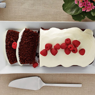 Chocolate Beet Cake with Ricotta Icing.