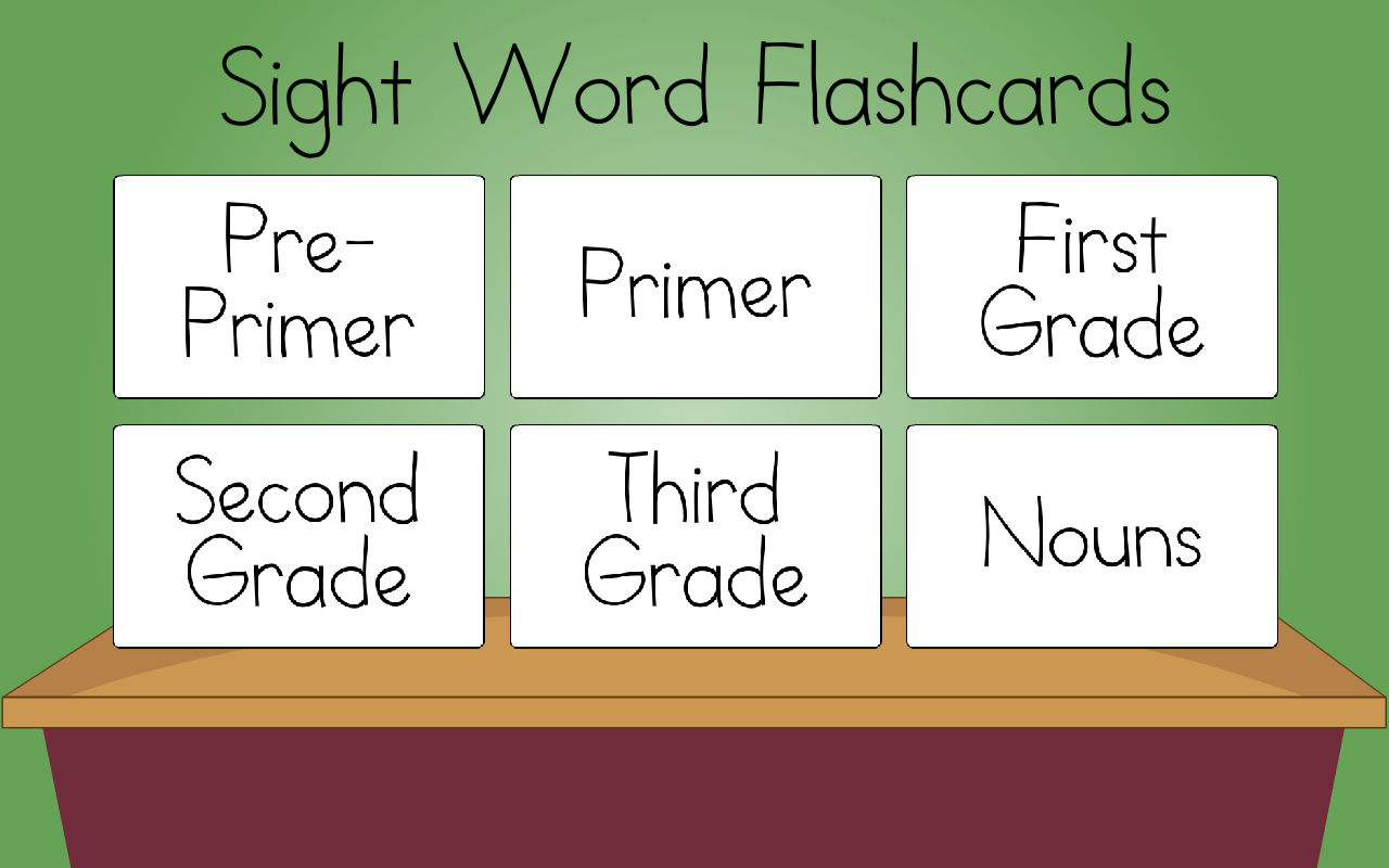 Worksheet Sight Word Flash Cards sight word flashcards android apps on google play screenshot
