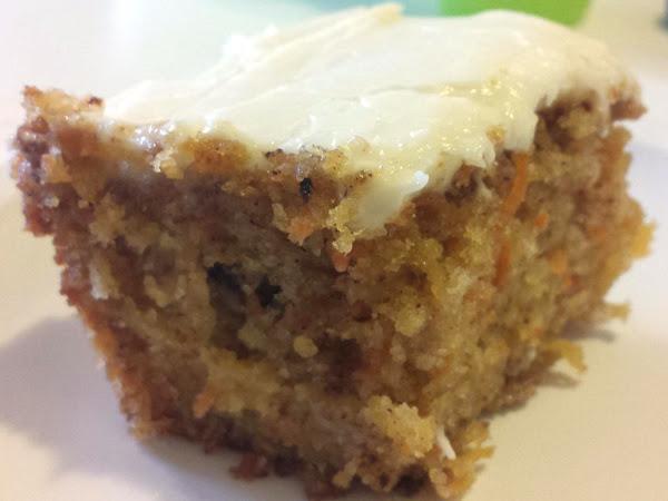 Grandma Carolyn's Carrot Cake Recipe