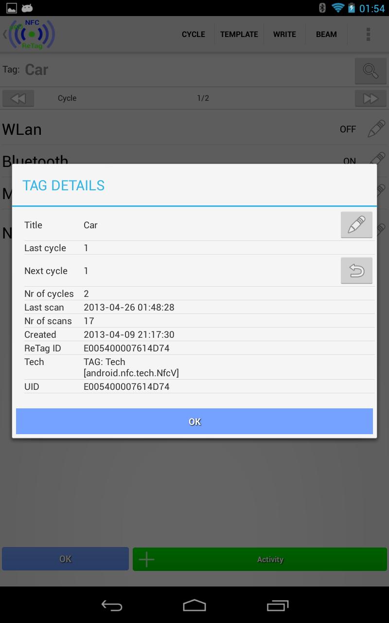 NFC ReTag PRO Screenshot 18