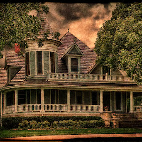 Dusk by Stacey Nagy - Buildings & Architecture Other Exteriors ( old house, houses, exterior )