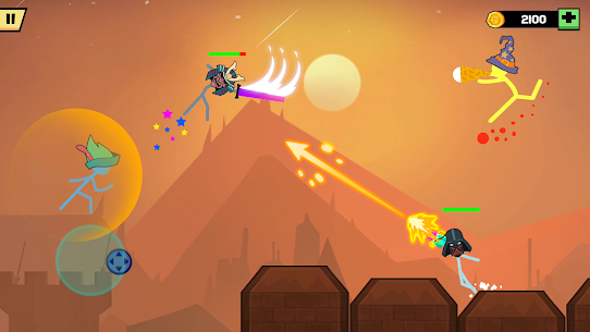 Stickman Fight Battle MOD APK (Unlimited Money/No Ads) for Android 5