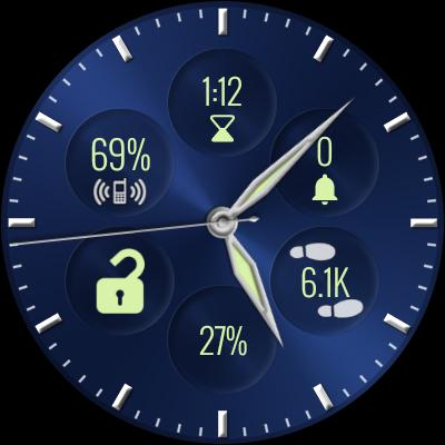 Bubble Cloud Wear Launcher Watchface (Wear OS) 9.39 screenshots 31