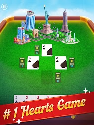 Hearts World Tour - Card Game Classic Plus APK screenshot thumbnail 6