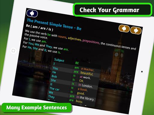 Speedy English Grammar -Basic ESL Course & Lessons 1.6.1 screenshots 7