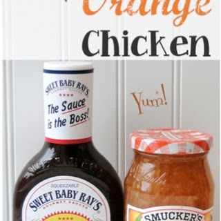 Crockpot Orange Chicken.