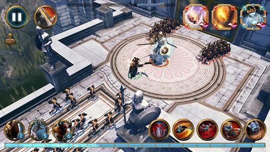 Olympus Rising MOD APK 6.0.6 [Free Spawning Troops + Unlocked] 6