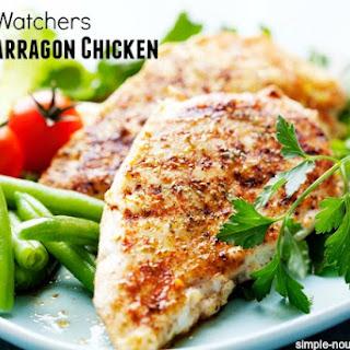Weight Watchers Grilled Lemon Chicken Breasts with Tarragon.