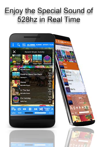 528 Player - HiFi Lossless 528hz Music Player screenshots 1