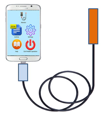 Endoscope & USB camera for Samsung PROFESSIONAL  screenshots 1