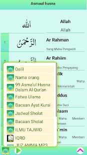 Asmaul Husna MP3 MERDU APK ScreenShots