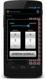 Quiniela Screenshot 3