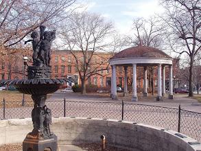Photo: Union Square Park fountain and pavilion