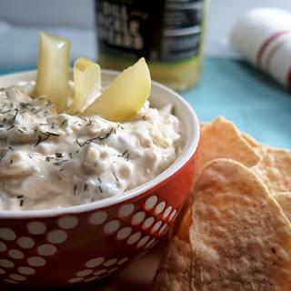 Creamy Dill Pickle Dip