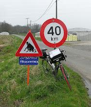 Photo: Route dangereuse!