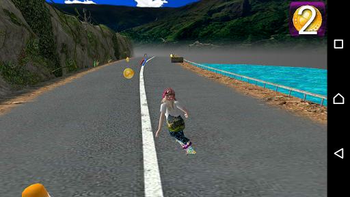 SkateBoarder Girl 1.3 {cheat|hack|gameplay|apk mod|resources generator} 4