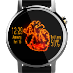 Heart Ablaze 🔥 Watch Face Icon