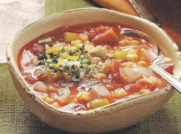 Tomato And Ditalini Soup Recipe