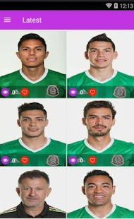 Mexico National Football Team HD Wallpapers - náhled