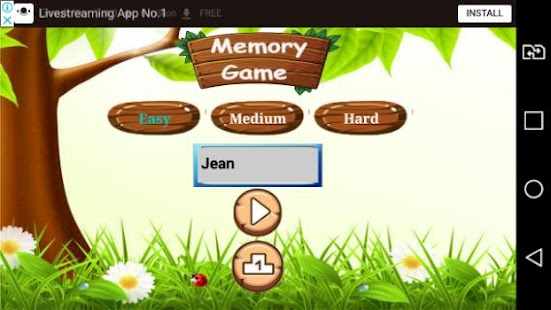 Memory Game - náhled